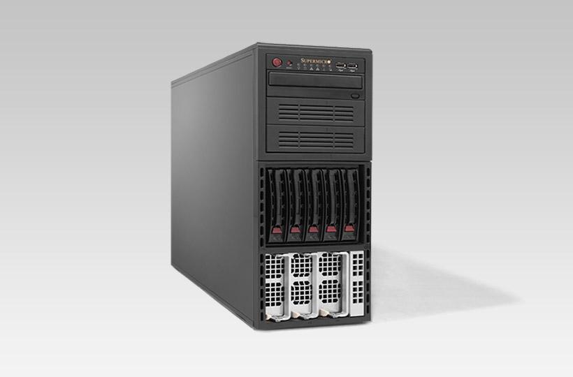Server - Tower Server - High-End - RECT™ TS-6486R10 - Quad